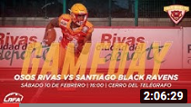 LNFA 2018 Serie A – Osos Rivas vs Santiago Black Ravens